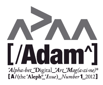 ADAM Alphabet Digital Art Magazine