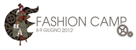 FASHION CAMP - testata con data
