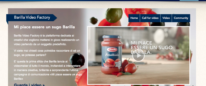 video factory barilla