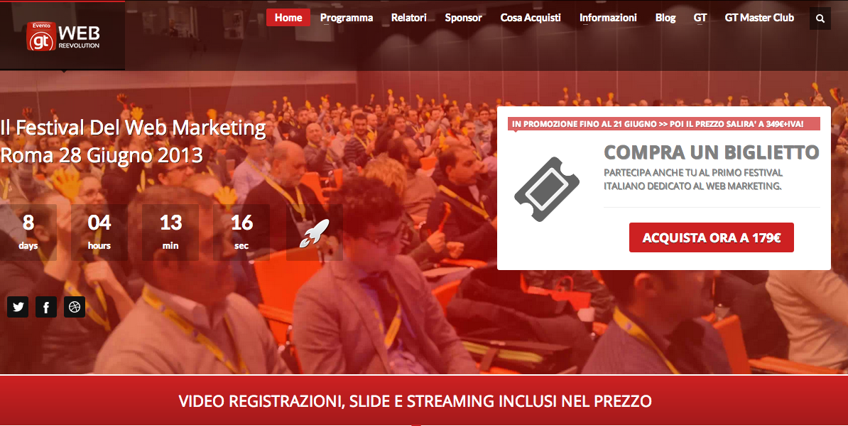 WebReevolution – Il Festival del Web Marketing